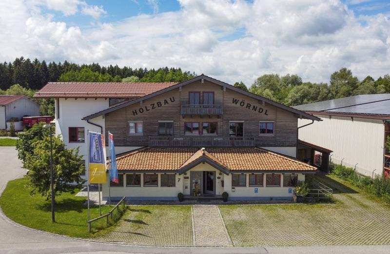 Luftaufnahmen für Werbezwecke: Holzbau Wörndl Eggstätt