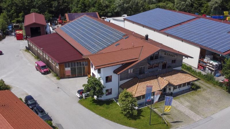 Luftaufnahmen für Internetauftritt: Holzbau Wörndl Eggstätt