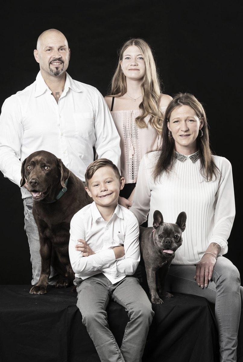 Familienfotos im Studio im Chiemgau
