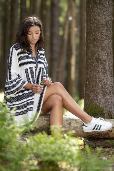 Outdoorportrait Wald