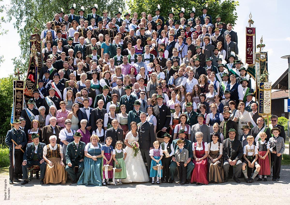 Hochzeitsfotograf Traunstein - Gruppenfotos